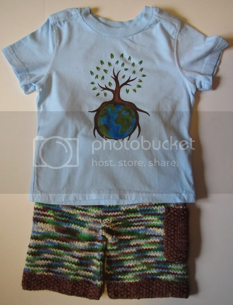 Earth Day Toddler Set w/ Juddy Duds, EcoWrapz and Sunshine Wool Works