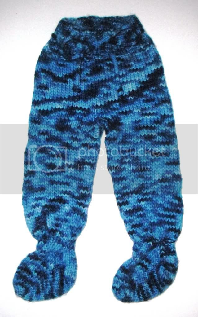 Small Blue Footies